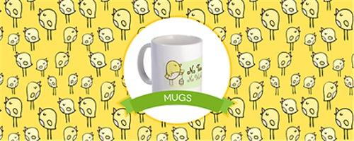 Birdie Mugs