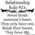 Break Bones, Not Hearts
