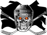 Skull and Crossbones Hockey
