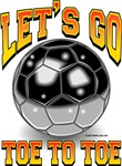 Let's Go Toe To Toe Soccer Ball