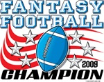 2009 Fantasy Football Stars & Stripes