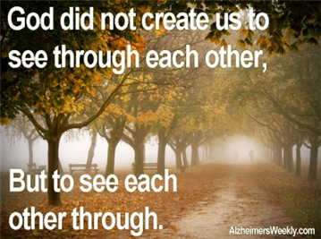 To See Each Other Through