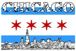 CHICAGO-CITY FLAG