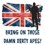 Bring on those damn dirty apes!-ENGLAND-UK