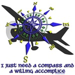 I need a compass...Flying