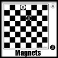 Fridge Chess (TM) Magnets