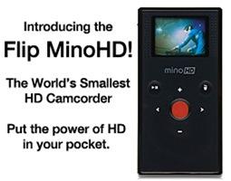 Designer Flip Mino HDs