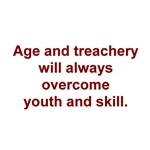 Age and treachery...