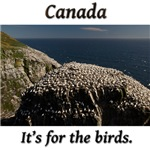 Canada: It's for the birds.