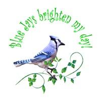 <b>BLUE JAYS BRIGHTEN MY DAY</b>