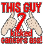 Oral Cancer This Guy Kicked Cancer Shirts