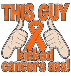 Leukemia This Guy Kicked Cancer Shirts