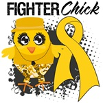 Childhood Cancer Fighter Chick Shirts
