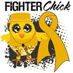 Appendix Cancer Fighter Chick Shirts