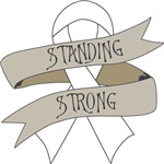 Lung Cancer Standing Strong Shirts