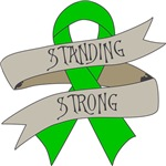 Bile Duct Cancer Standing Strong Shirts