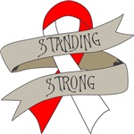 Oral Cancer Standing Strong Shirts