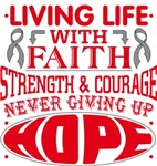 Diabetes Living Life With Faith Shirts