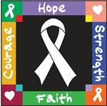 Bone Cancer Courage Hope Shirts
