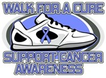 Esophageal Cancer Walk For A Cure Shirts