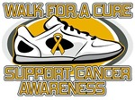 Appendix Cancer Walk For A Cure Shirts