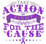 Fibromyalgia Take Action Fight For The Cause Shirt