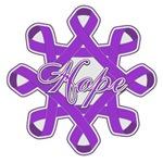 Fibromyalgia Hope Ribbon Shirts