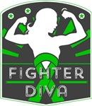 Kidney Cancer Fighter Diva Shirts