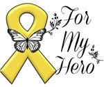 Childhood Cancer For My Hero Shirts