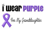 I Wear Purple For My Granddaughter