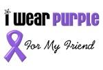 I Wear Purple For My Friend