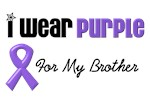 I Wear Purple For My Brother