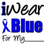 I Wear Blue Ribbon Colon Cancer Swag & Gifts