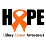 Kidney Cancer Hope T-Shirts & Gifts