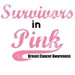 Survivors in Pink Breast Cancer T-Shirts & Gifts