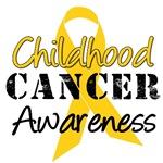 Childhood Cancer Awareness Gold Ribbon