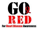 Go Red Heart Disease Awareness Shirts