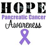 Hope Pancreatic Cancer Awareness T-Shirts