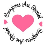 Caregivers Are Special Breast Cancer T-Shirts