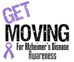 Get Moving Alzheimer's T-Shirts & Gifts