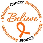 Kidney Cancer Believe Shirts & Gifts