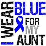 I Wear Blue Colon Cancer Aunt Shirts & Gifts