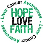 Liver Cancer Hope Love Faith Awareness Gifts