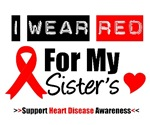 I Wear Red Sister Heart Disease Shirts & Gifts