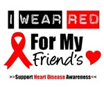 I Wear Red Friend Heart Disease Shirts & Gifts