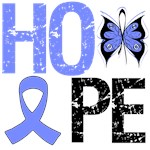Stomach Cancer Hope Butterfly Shirts & Gifts