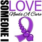 Someone I Love Needs A Cure Pancreatic Cancer Tees
