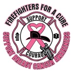 Firefighters For A Breast Cancer Cure Shirts