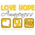 Childhood Cancer Love Hope