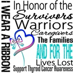 Thyroid Cancer Ribbon Tribute